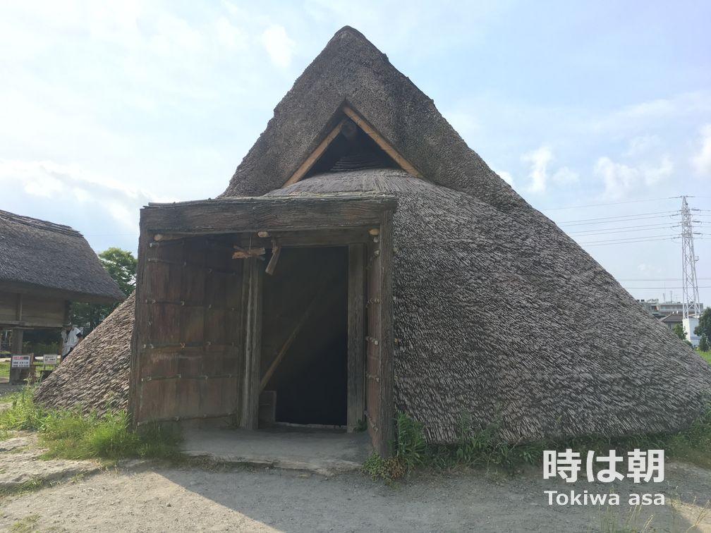 登呂遺跡 竪穴式住居