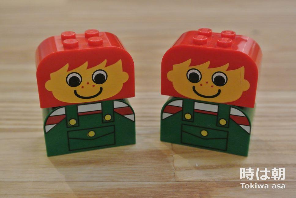 レゴ 赤いバケツのパーツ