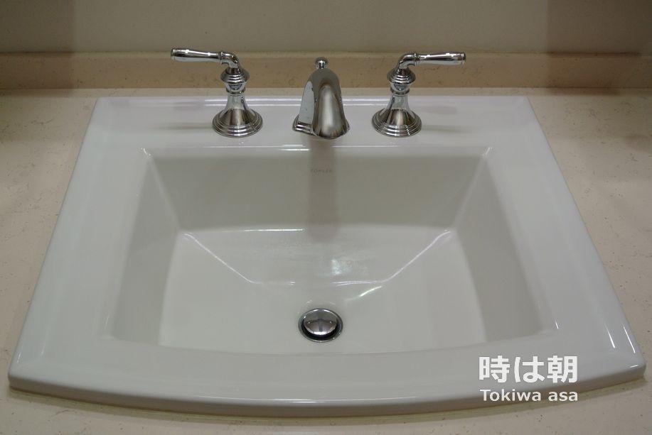 KOHLER 洗面ボウル 水栓