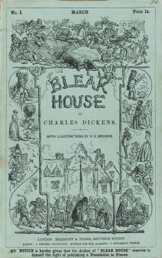Bleak house 初版本表紙